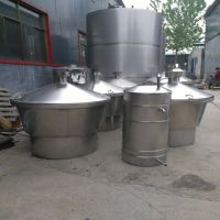 志农一百斤粮食酿酒设备 100斤家用蒸酒设备厂家 200斤煮酒锅
