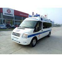 福特全顺V348国V长轴监护型救护车价格