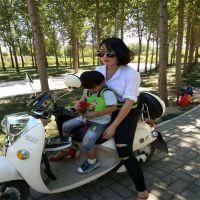 儿童电动车安全带固定带保险带保护绑带小孩子坐电车摩托车固定带