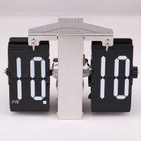创意小号座钟单挂翻页钟 机械翻页钟 欧式复古客厅装饰座钟