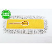 60CM 新款拖把 尘推头平板拖把替换布 黄色帆布尘推可卸可洗