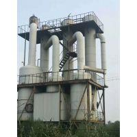 全国供应二手1-10吨三效降膜蒸发器、钛材材质、316L不锈钢材质、规格多种