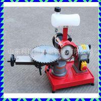 新款手动磨齿机 硬质合金锯片磨刃机 小型木工锯片打磨机角度可调