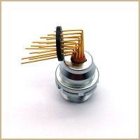 厂家直销 EEG 1K弯针插座2芯到16芯 雷莫LEMO连接器 防水 金属