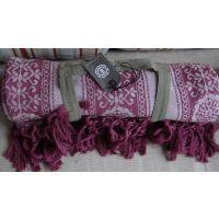 机织提花休闲毯子