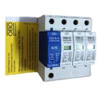 住宅用电源防雷器V20-C/3+NPE 防雷器接线图
