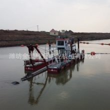 大型绞吸船的作业深度 自航液压绞吸船小时工作效率
