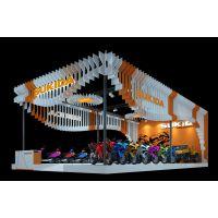 2018广交会排期 豪剑广交会展台设计方案 展览展示3D模型