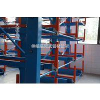 全国销售管材货架 伸缩悬臂式货架价格 原材料库专用