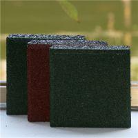 连平县材委会健身区弹性塑胶地垫铺设 彩色弹性橡胶地垫规格厚度