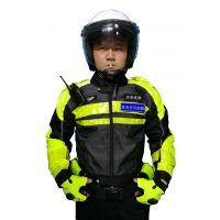 交通警察摩托车骑行服机车赛车服有护具飞虎铁骑反光骑警服防摔防雨防风