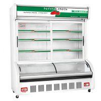 南凌冷柜点菜柜麻辣烫烧烤水果冷藏冰箱HY-1400