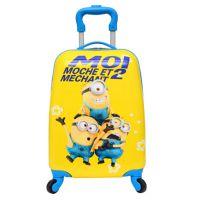 新款小黄人儿童拉杆箱卡通万向轮16寸方形拉杆箱可爱拉杆旅行箱