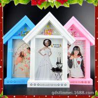 厂家直销简约摆台挂墙组合相框  婚纱儿童影楼相框 照片墙