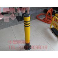 【现货供应】警示柱弹力柱、隔离柱、防撞柱、铁立柱、50防撞柱