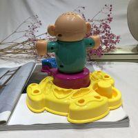 抖音同款理发师彩泥套装剪头发DIY手工橡皮泥彩泥儿童玩具6075
