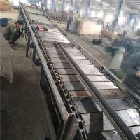 链板输送机rj瑞吉输送环保 耐磨耐用链板输送机生产规格专业厂家