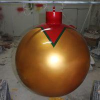 直径80cm玻璃钢圣诞球 直径80cm玻璃钢圆球 商场广场酒店圣诞挂饰