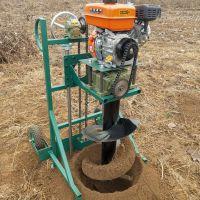 自走式园林植树打坑机 佳鑫轻便钻坑机 大直径挖坑机价格