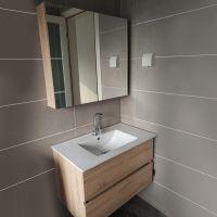 北欧浴室柜组合小户型简约卫浴柜卫生间洗脸盆柜洗漱台盆柜洗手池
