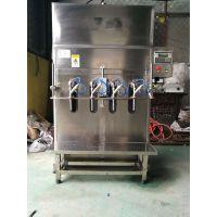 兴泰SZ-4自流式半自动白酒液体灌装机
