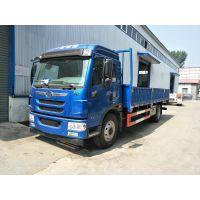 北京解放6.8米龙VH板车高栏厢车专卖销售18600 579917