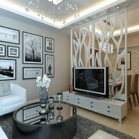 家居板隔断装饰板雕花板商铺橱窗形象装饰板通花板厂家专业定制
