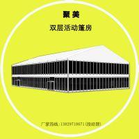 10x20双层办公商业篷房 高端篷房设计