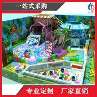 上海聚巧游乐厂家直销淘气堡大型室内英伦主题儿童乐园
