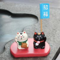 zakka杂货 招福招财猫 树脂工艺品 桌面场景装饰摆件 厂家直销