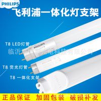 T8飞利浦led灯管日光灯管T5一体化支架三基色荧光灯高显色工程灯