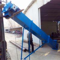 304材质刮板运输机 固定型煤粉输送机