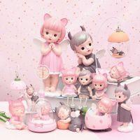 创意情人礼物粉色少女心ins风摆件天使情侣树脂工艺品蛋糕装饰
