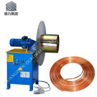 佛山厂家保温铜管盘管机 空调管卷圆机 性能稳定