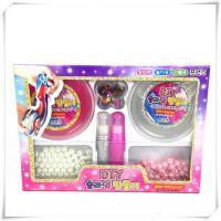 史莱姆DIY水晶泥减压玩具珍珠拉伸粘土闪粉儿童彩泥装饰亮片套装