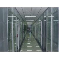 室内办公高隔 活动屏风 双玻百叶隔断 磁控百叶隔断 调光玻璃