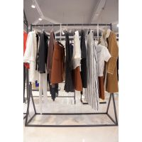 帕佳妮北京女装尾货批发市场折扣 品牌女装的批发尾货橘色旗袍唐装