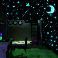 宿舍寝室创意荧光夜光贴个性墙贴墙壁贴纸卧室装饰品床头墙画贴画