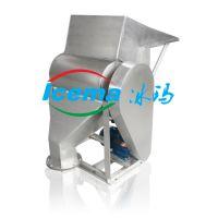 不锈钢碎冰机3.0kw 快速电动碎冰机刨冰机雪花冰蔬果保鲜食品加工