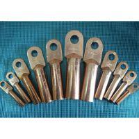 万泰DT铜鼻子铜接头冷压铜线鼻铜管接线端子35平方接线耳电缆线接头鼻子