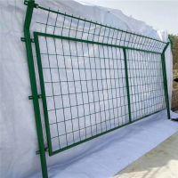 框架护栏网隔离栅 护栏网立柱尺寸 衢州围栏网报价