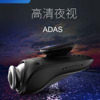 安卓导航USB行车记录仪ADAS辅助车距碰撞预警星光夜视记录仪高清