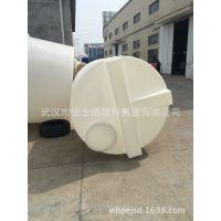 武汉5吨塑料加药箱带搅拌机 5吨PE搅拌罐厂家