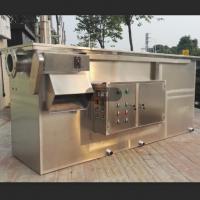 深圳饮食店油水分离器 餐饮厨房隔油池原理LS-3AT