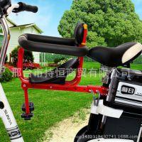 自行车儿童座椅电动车前置椅宝宝安全座椅自行车山地车电动车座椅