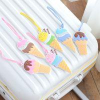LiGo卡通冰激凌行李牌旅行箱吊牌旅游用品韩版拉杆箱挂牌托运吊牌