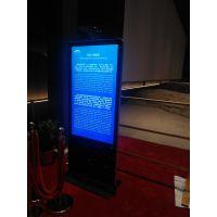 火木科技服务于西安液晶广告机厂家报价租赁 展会触摸屏 展会刷屏机