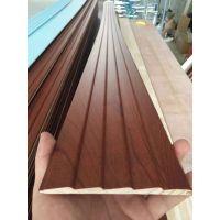 广东恒锋木业免漆实木门套线松木包覆同色门板线条欧式7分暖白