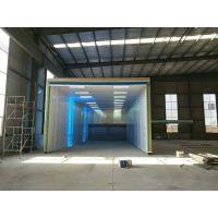 河北钢结构生产厂 器件喷漆环保设备 移动伸缩房 移动喷漆房