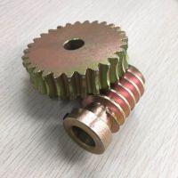 24锭方机蜗轮蜗杆 不锈钢 蜗杆蜗轮 耐磨精密铜涡轮杆 卡西特
